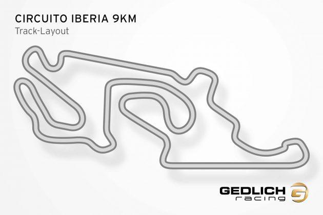 GEDLICH Racing - Racetrack Circuito Iberia 9km