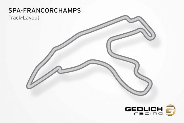 GEDLICH Racing - Racetracks Spa-Francorchamps