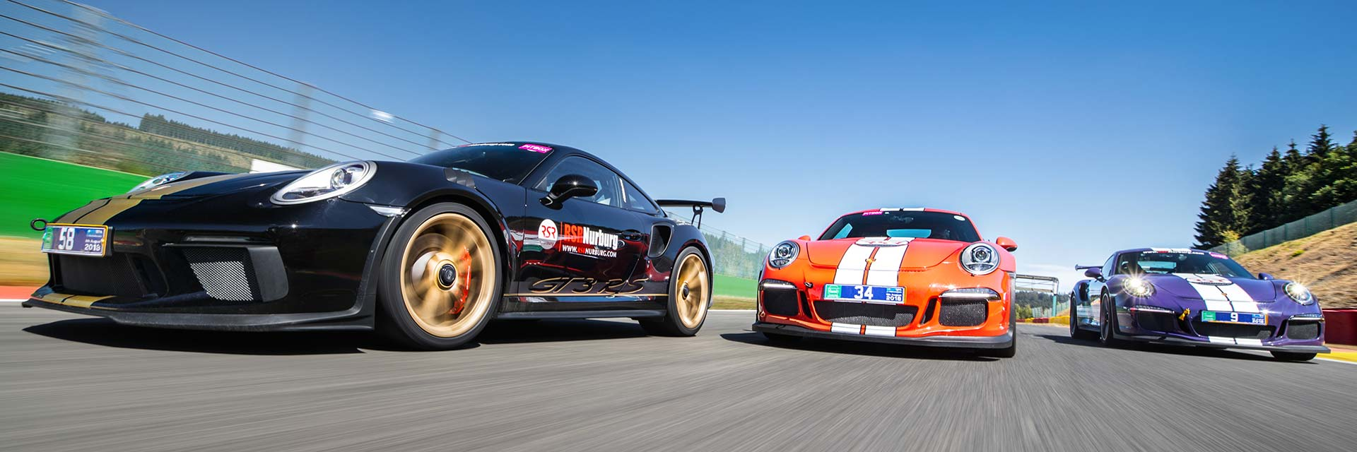 GEDLICH Racing - Racetracks Spa-Francorchamps