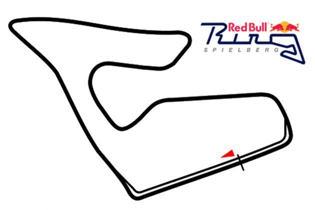 Streckenskizze Red Bull Ring
